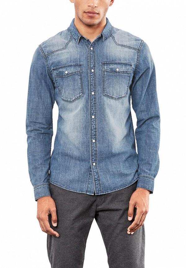 Рубашка джинсовая Q/S designed by Q/S designed by QS006EMXKM31 рубашка colin s colin s mp002xm0wcm1