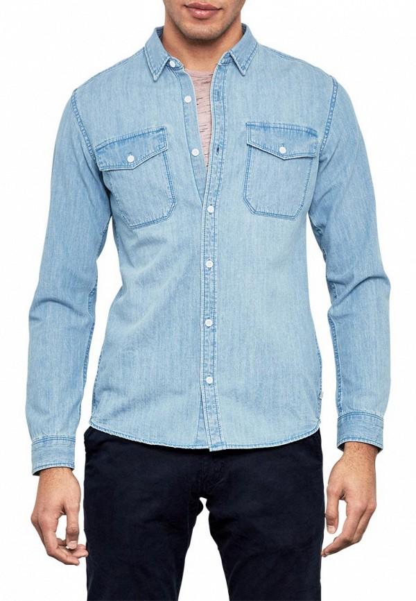 Рубашка джинсовая Q/S designed by Q/S designed by QS006EMZPE86 рубашка colin s colin s mp002xm0wcm1