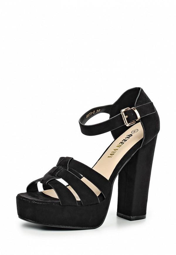 Босоножки на каблуке Queen Vivi 8873-2