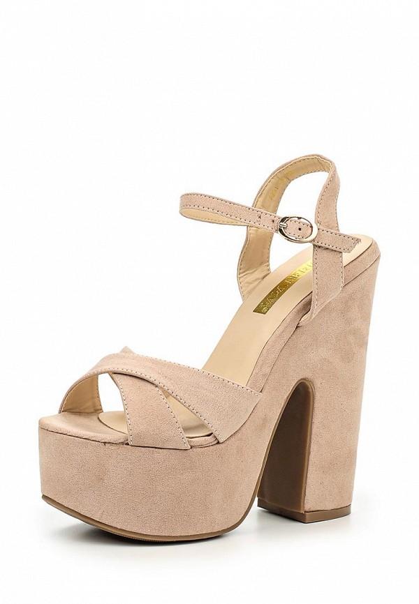 Босоножки на каблуке Queen Vivi A831-100
