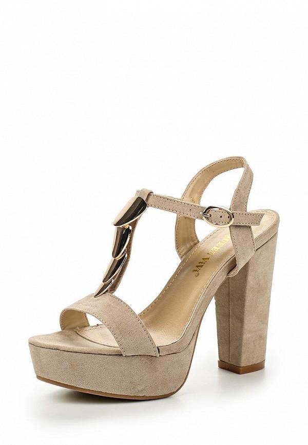 Босоножки на каблуке Queen Vivi 108-46