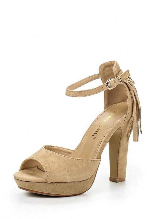 Босоножки на каблуке Queen Vivi 108-44