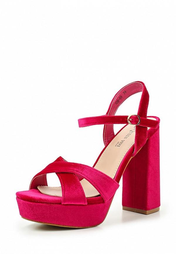 Босоножки Queen Vivi Queen Vivi QU004AWTMQ56 ботинки queen vivi queen vivi qu004awyoc50