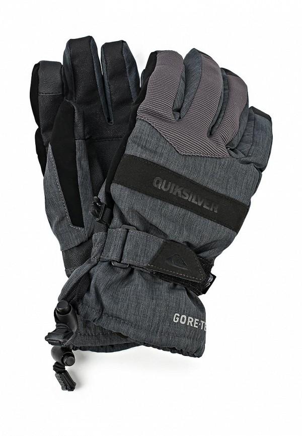 Перчатки Quiksilver QU192DMCFV19. Цвет: серый, черный