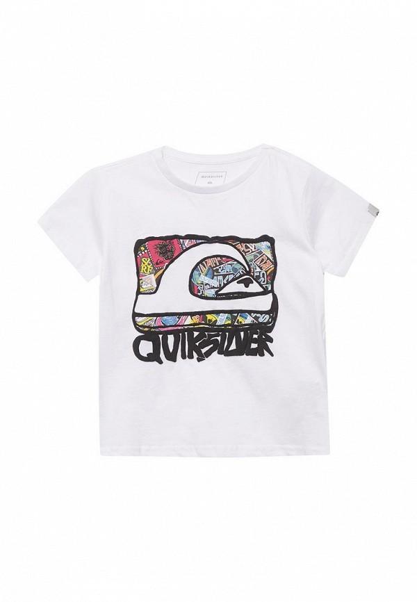 Футболка Quiksilver Quiksilver QU192EBAKCK3 футболка quiksilver quiksilver qu192ebpew98