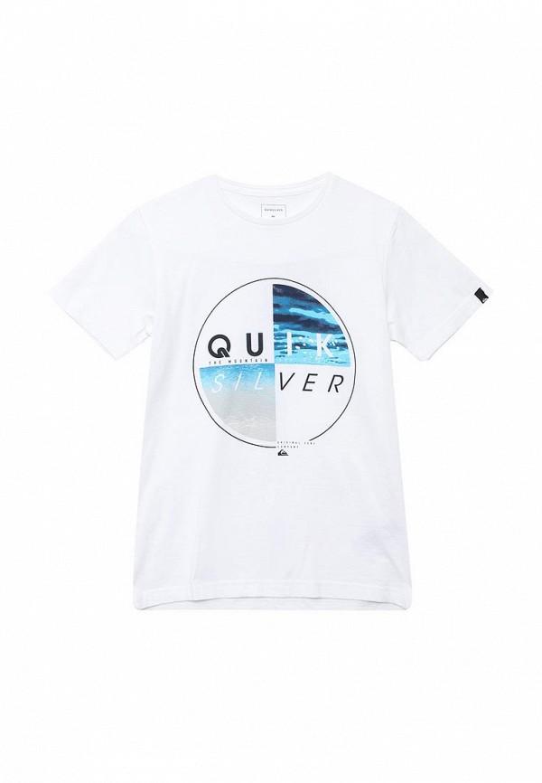 Футболка Quiksilver Quiksilver QU192EBPEW89 футболка quiksilver quiksilver qu192empvd34