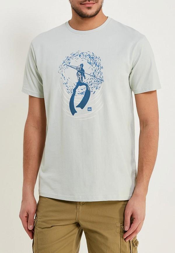 Футболка Quiksilver Quiksilver QU192EMAKIZ6 футболка детская quiksilver teessyouteaglne golden spice