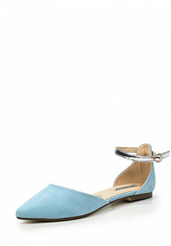Туфли на плоской подошве Raxmax ES16097BL