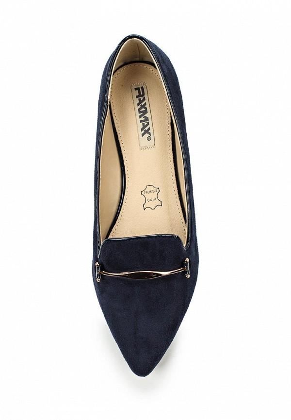 Туфли на плоской подошве Raxmax ES16185BL: изображение 4