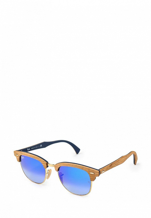Солнцезащитные очки  голубой цвета