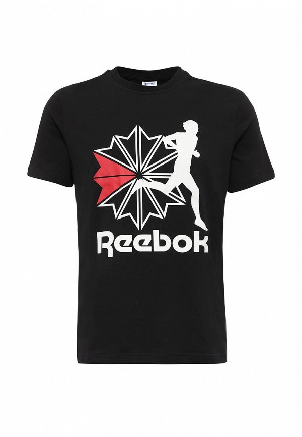 Футболка с надписями Reebok Classics AY0807