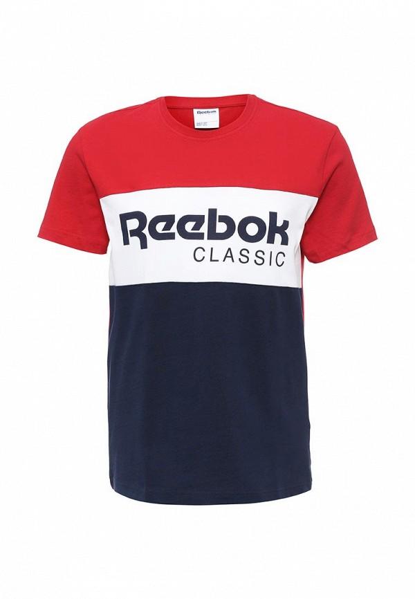 Футболка с надписями Reebok Classics AY1156
