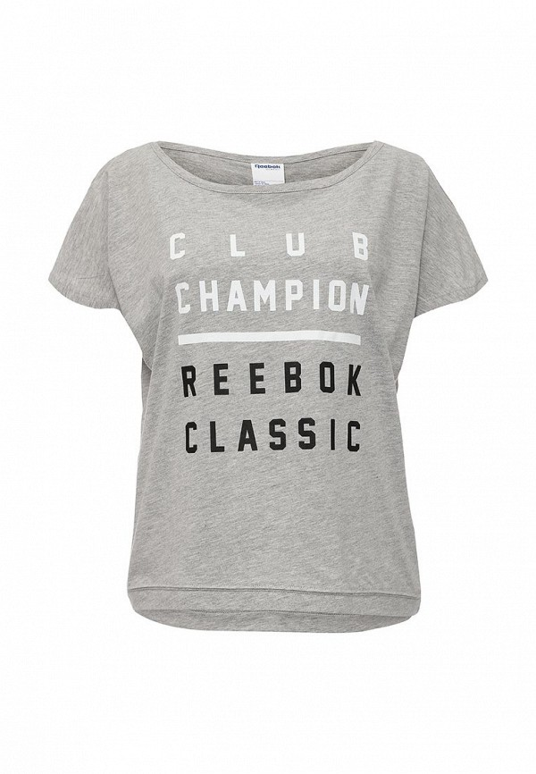 Футболка с надписями Reebok Classics AJ4092