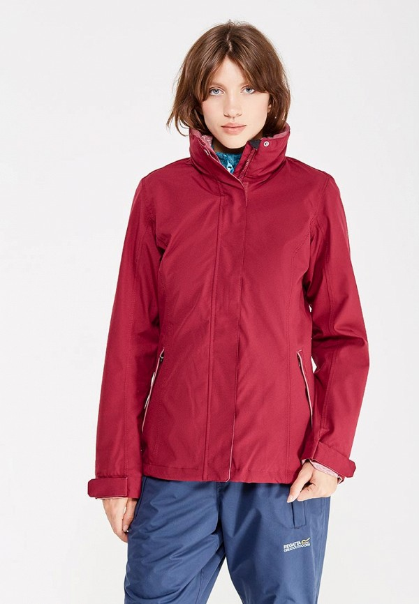 Фото - Куртку утепленная Regatta бордового цвета