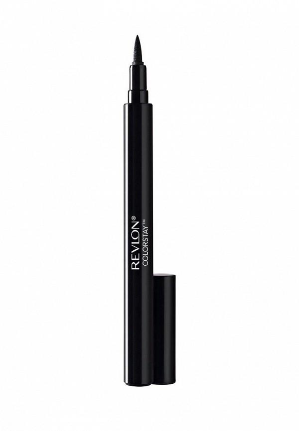 Жидкая подводка Revlon фломастер Для Глаз Colorstay Liquid Eye Pen Blackest black