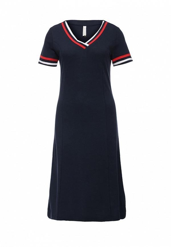 Купить женское платье Relax Mode синего цвета