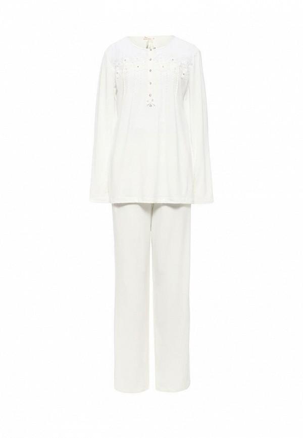 Пижама Relax Mode. Цвет: белый