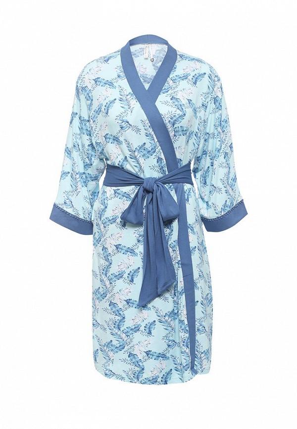 Купить Халат домашний Relax Mode голубого цвета