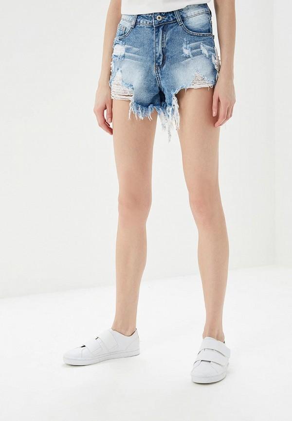 Шорты джинсовые Regular Regular RE042EWBFOV4 шорты джинсовые запорожец pocket denim short zap regular flex raw blue