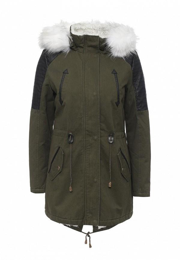 Утепленная куртка Regular R32-YD16090