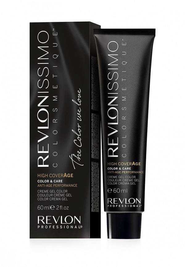 Купить Краска для волос Revlon Professional, REVLONISSIMO COLORSMETIQUE HIGH COVERAGE 6.34 60 мл, RE044LMUKT22, Весна-лето 2018