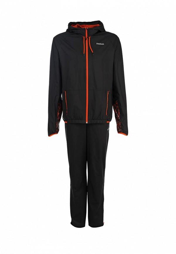 Спортивный костюм Reebok TS STW. Цвет: черный