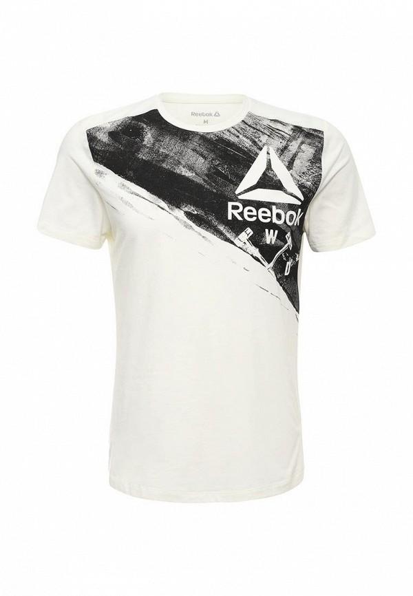 цена Футболка спортивная Reebok Reebok RE160EMQJS91 онлайн в 2017 году