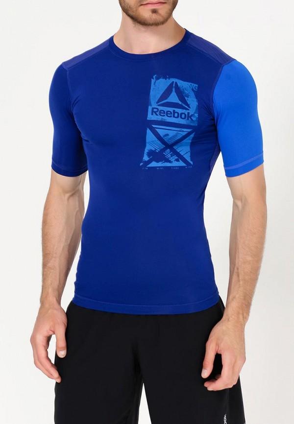 Футболка спортивная Reebok Reebok RE160EMUPO24 футболка reebok футболка компрессионная rcf ss compression wilblu