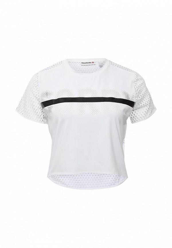 Футболка спортивная Reebok Reebok RE160EWHFW24 футболка reebok футболка компрессионная rcf ss compression wilblu