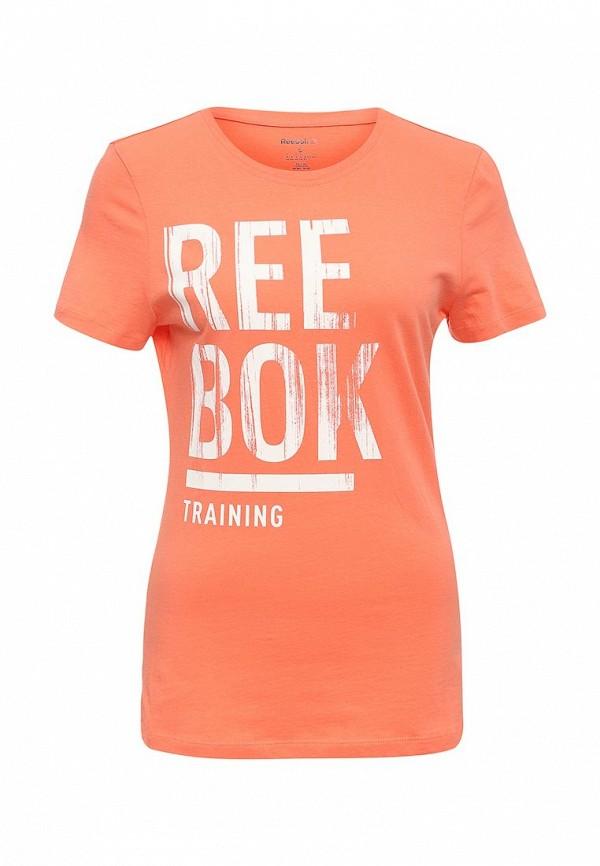 Футболка Reebok Reebok RE160EWQJU52 медицинский мяч 3 кг reebok re 21123 оранжевый