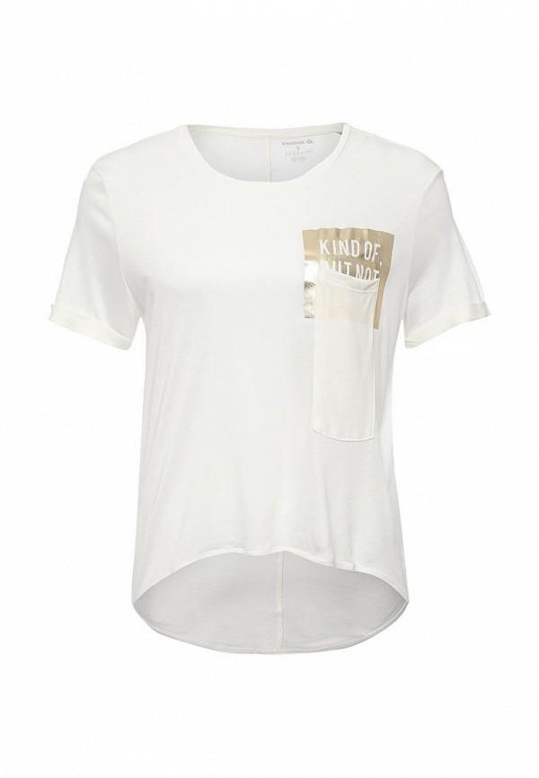 Футболка спортивная Reebok Reebok RE160EWQJU56 футболка спортивная reebok reebok re160ewwjv29