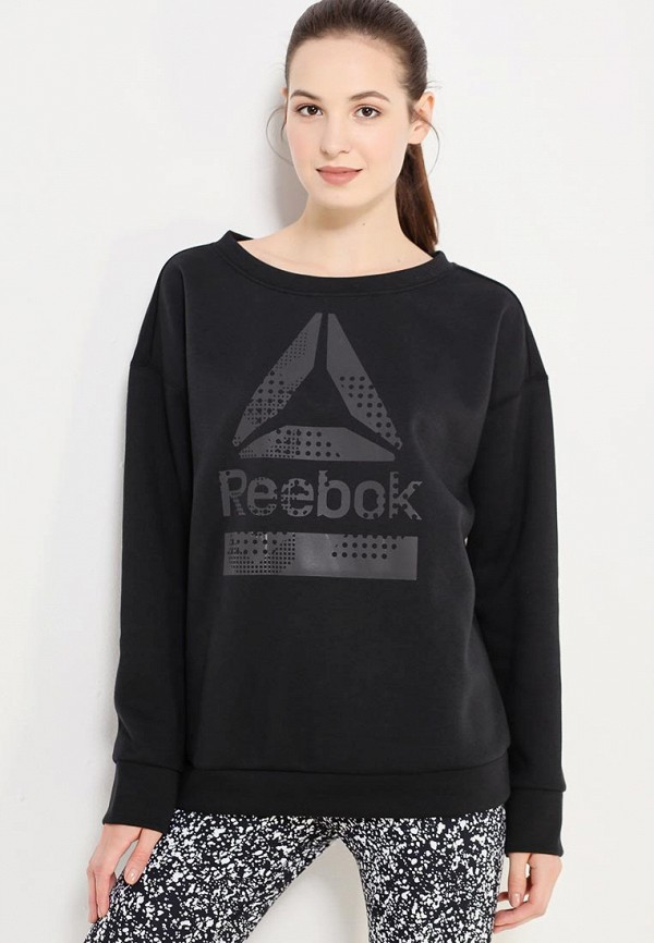 Свитшот Reebok Reebok RE160EWWJV35 свитшот reebok reebok re160ewuxp40