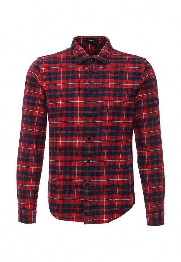 Мужская красная рубашка Replay