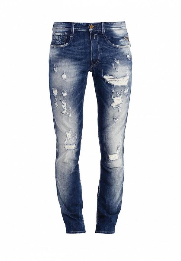 Мужские прямые джинсы Replay (Реплей) M914F .000.647 626