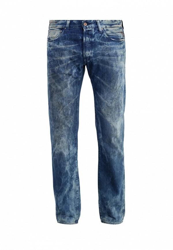 Мужские прямые джинсы Replay (Реплей) MA989.000.610380