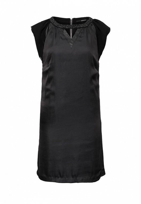 Платье-миди Replay (Реплей) W9973 .000.81558