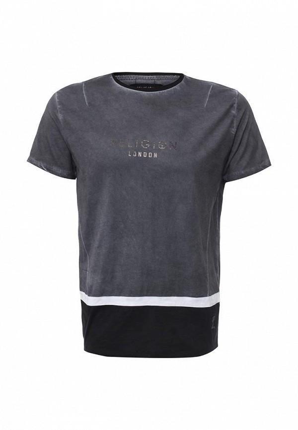 Купить мужскую футболку Religion разноцветного цвета
