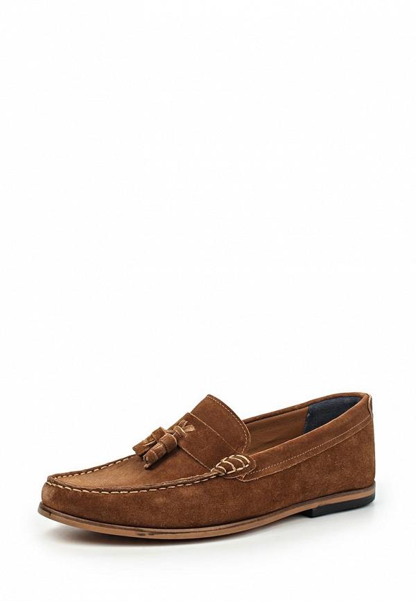 Туфли  коричневый цвета