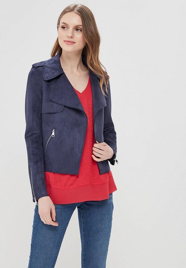 Купить Куртка кожаная River Island, RI004EWBBXC0, синий, Весна-лето 2018