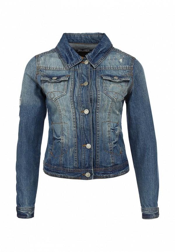 Куртка джинсовая River Island RI004EWBGM37. Цвет: синий