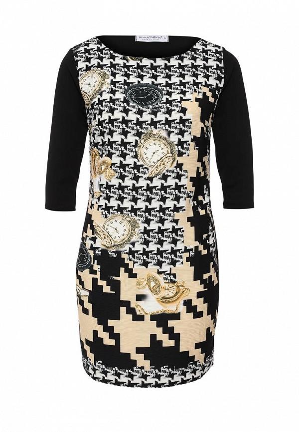 Платье-мини Rinascimento CFC0014244002