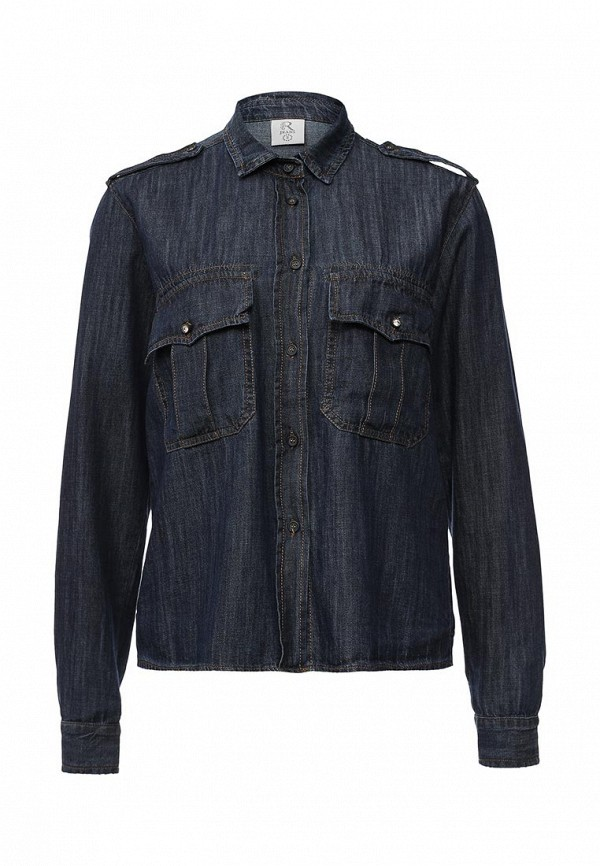 Рубашка джинсовая Rinascimento CFC0075687003