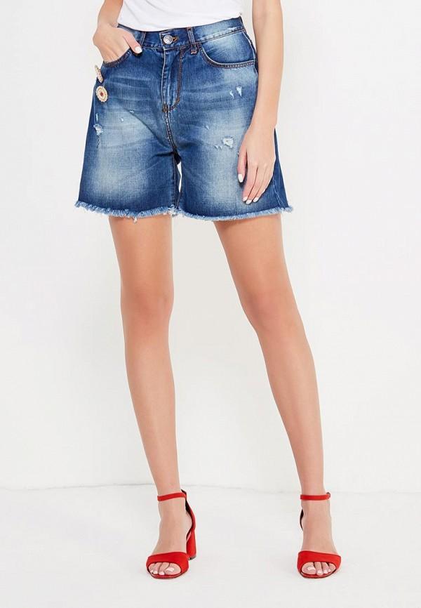 Шорты джинсовые Rinascimento Rinascimento RI005EWTXF40 rinascimento rinascimento ri005ewkgx15
