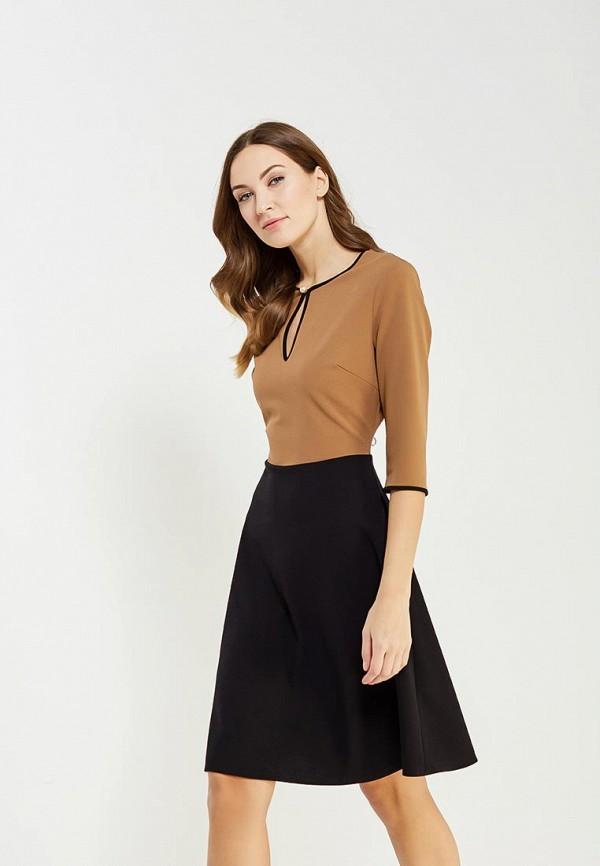 Фото - женское платье Rinascimento коричневого цвета