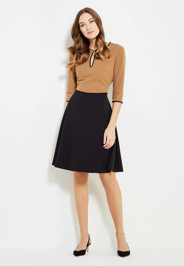Фото 2 - женское платье Rinascimento коричневого цвета