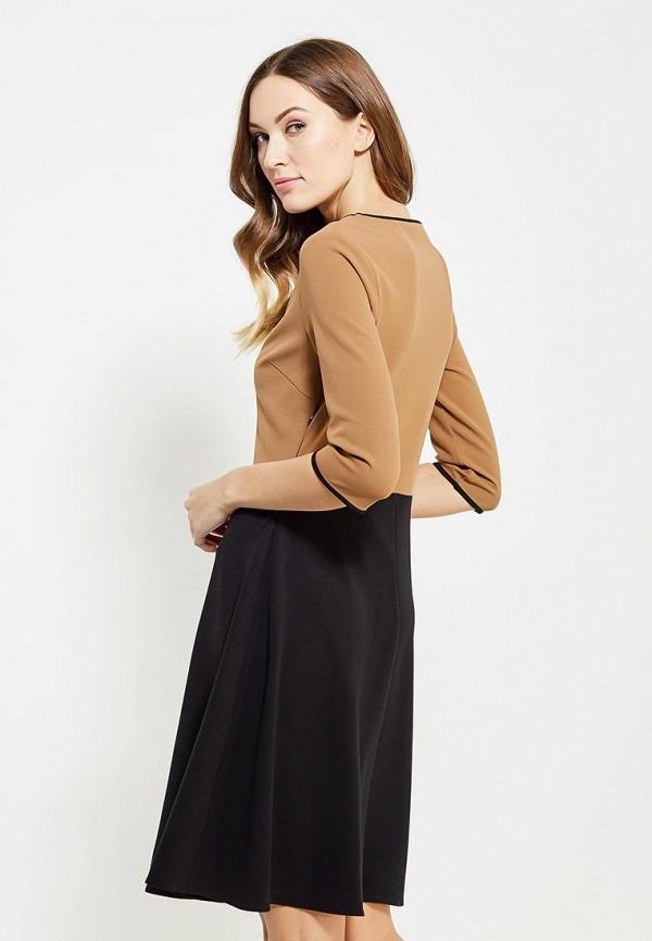 Фото 3 - женское платье Rinascimento коричневого цвета