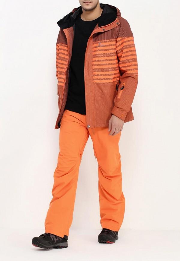 Фото 3 - Брюки горнолыжные Rip Curl оранжевого цвета