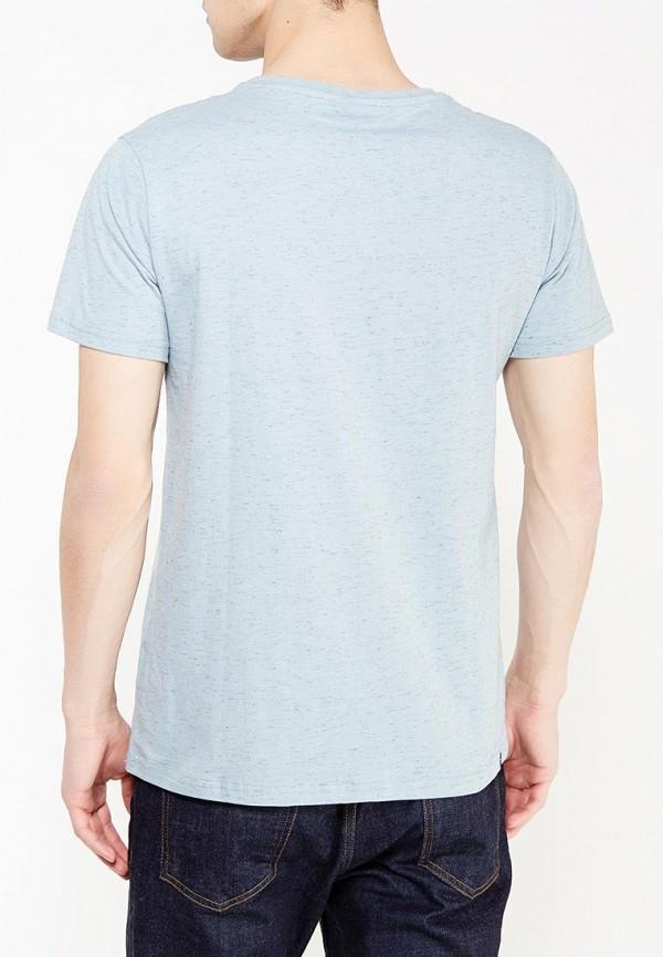 Фото 4 - мужскую футболку Rip Curl голубого цвета