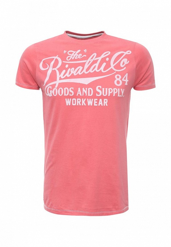 Футболка Rivaldi. Цвет: розовый