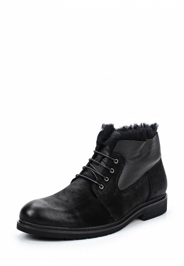 Фото - мужские ботинки и полуботинки Rosconi черного цвета